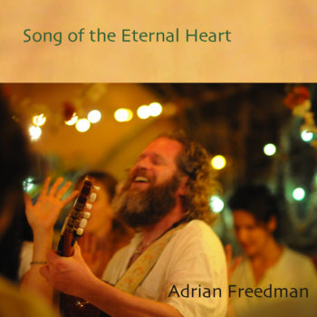 Album Song of the Eternal Heart Front Cover Listen Sound Healing Sacred Songs|Album Song of the Eternal Heart Back Cover|Eternal Heart Band in the woods at nighttime Projects