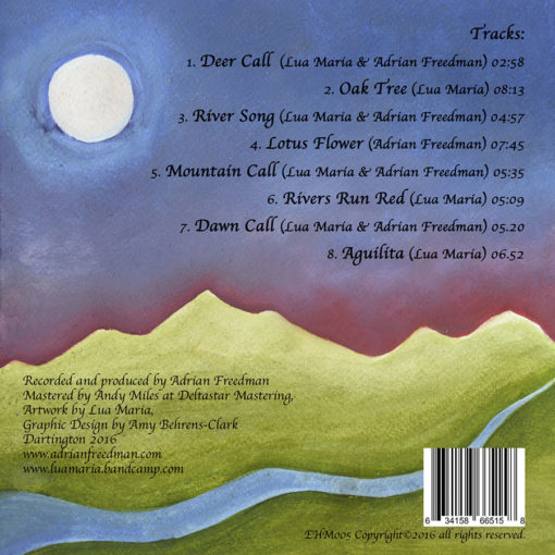 Album The Phoenix Tree Back Cover