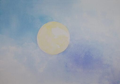 Album As I Breathe MoonPainting Original Artwork by Noriko Moonbird Features