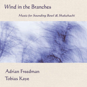 Album Wind In The Branches Front Cover listen|Album Wind In The Branches Back Cover|meditation music|Sounding Bowl with Long Strings. Image from soundingbowls.com|Available on iTunes|Available on Bandcamp