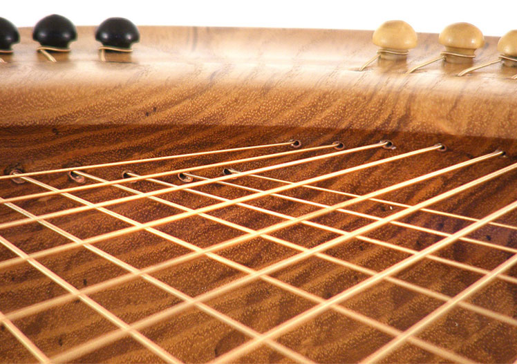 Sounding Bowl strings closeup. Image from souundingbowls.com