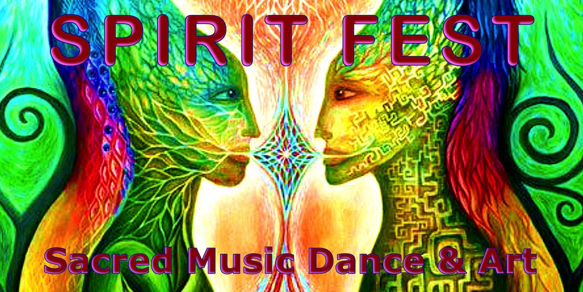 Spirit Fest Visionary Art Two entities
