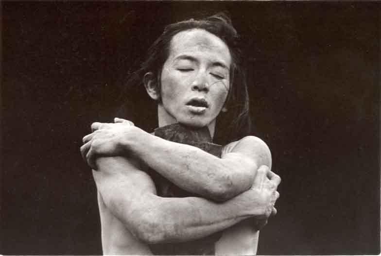 Butoh dancer Atsushi Takenouchi Embrace