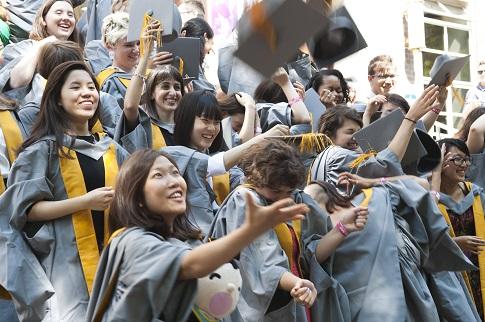 Graduates celebration