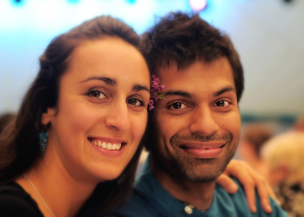 smiling couple ilumina