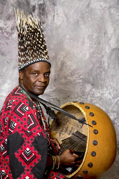 Traditional Mbiro player Chartwell Dutiro